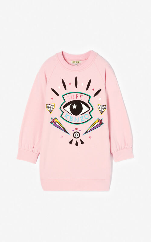 BEGONIA 'Super KENZO' sweatshirt dress for women