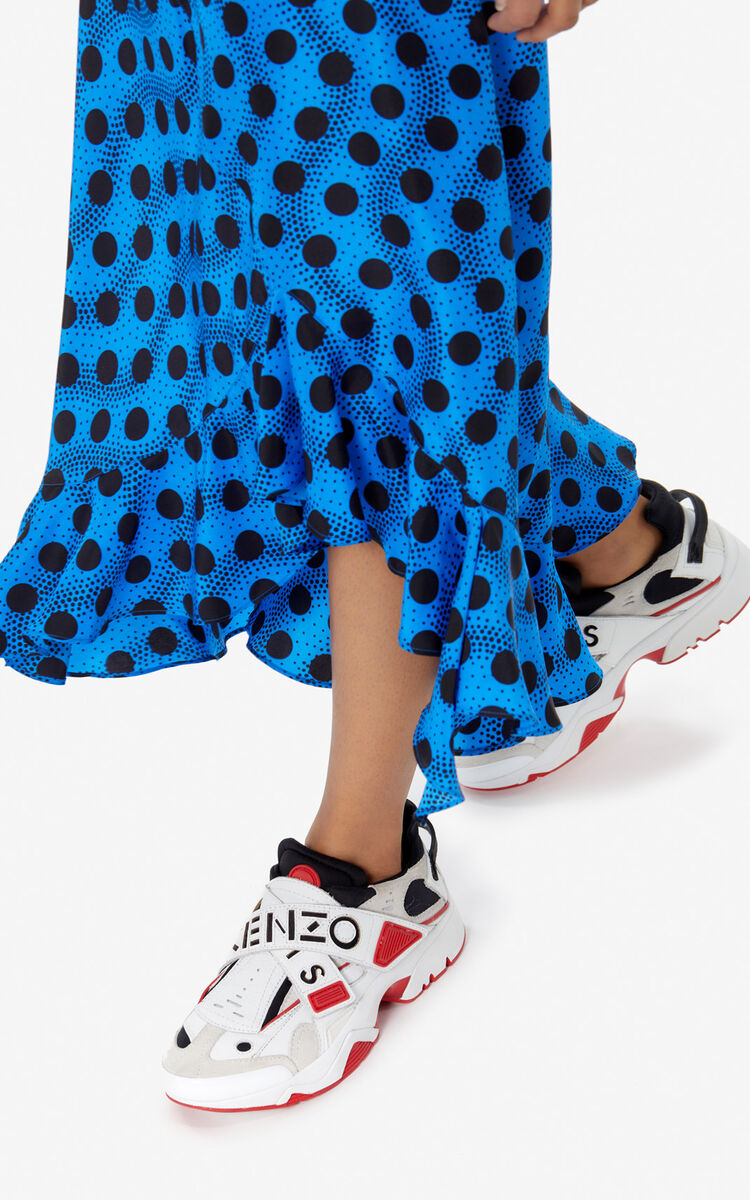 MEDIUM RED Sonic Scratch sneakers for unisex KENZO