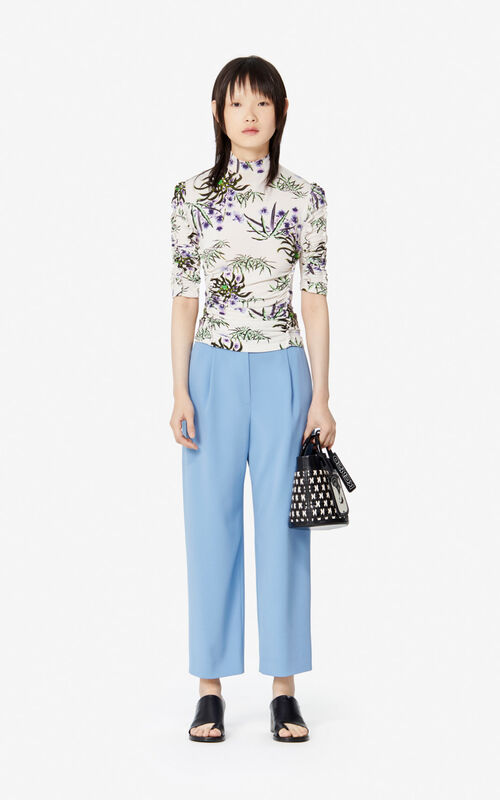 OFF WHITE 'Sea Lily' top for women KENZO