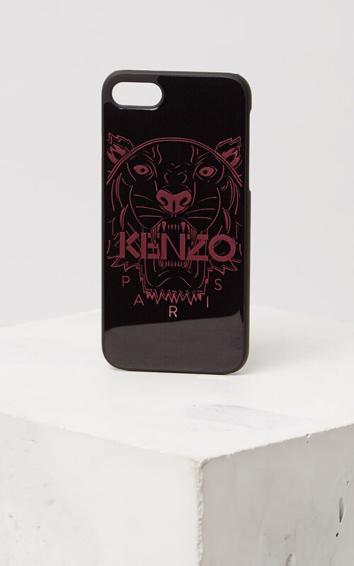 PASTEL PINK 3D Tiger iPhone 7+ case for unisex KENZO