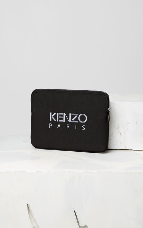 BLACK Tiger tablet sleeve for women KENZO