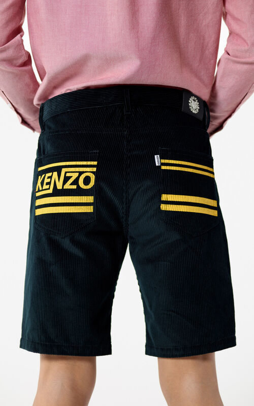 PINE 'Hyper KENZO' shorts in corduroy for men