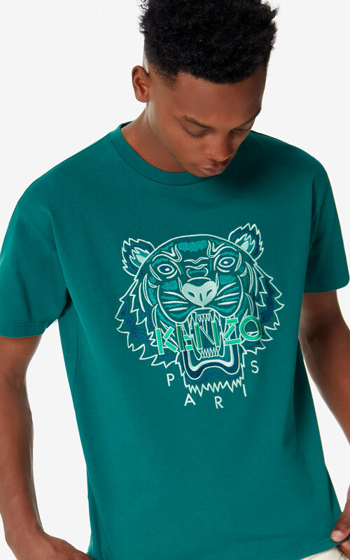 3c3f97e67 ... PINE Tiger T-shirt for men KENZO