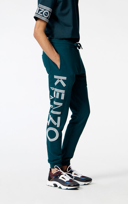 PINE KENZO Logo sweatpants for men