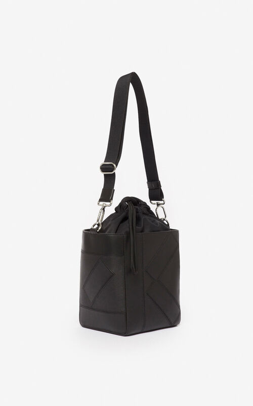BLACK Kube Small Tote bag  for unisex KENZO