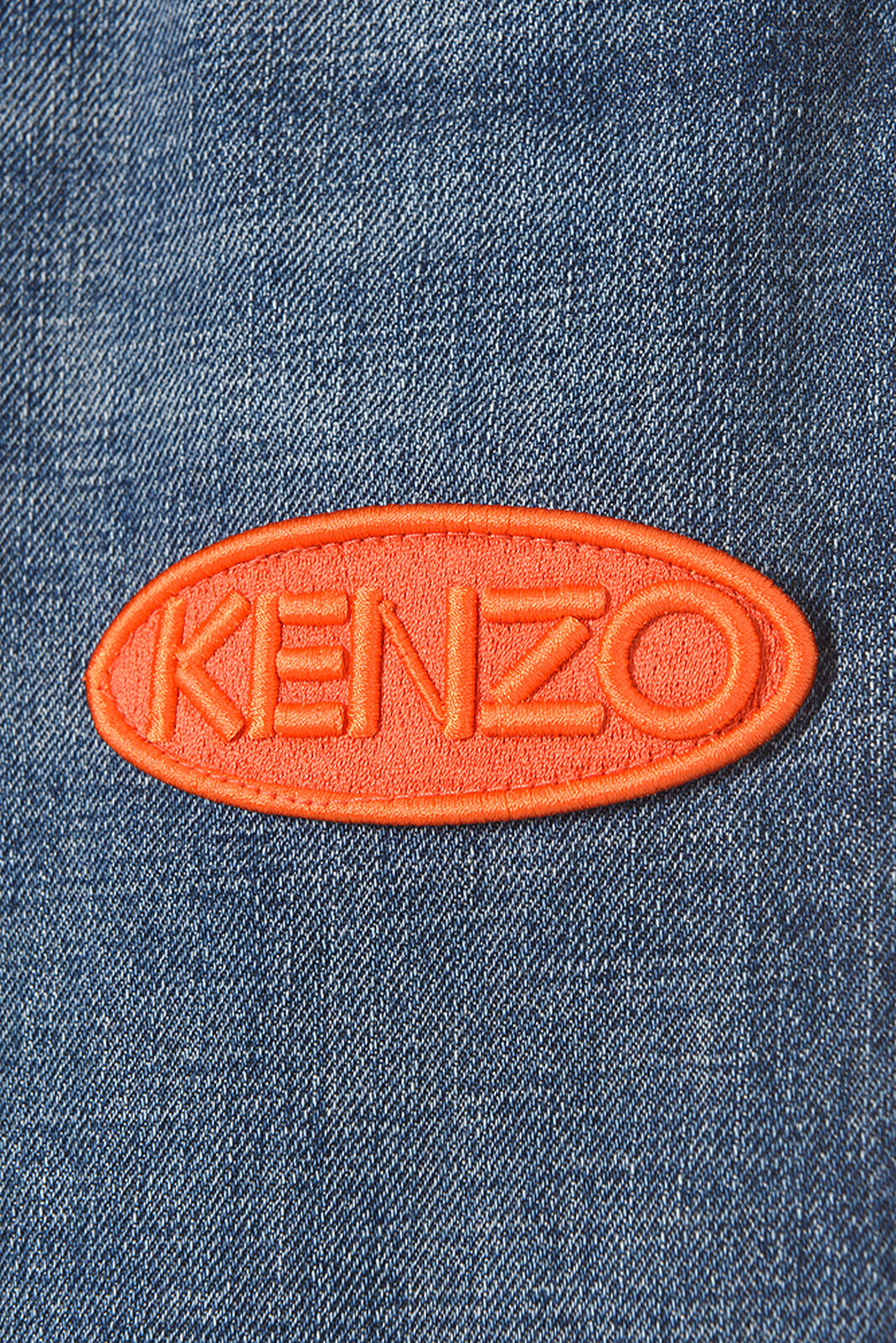 NAVY BLUE Jeans With Badges for women KENZO