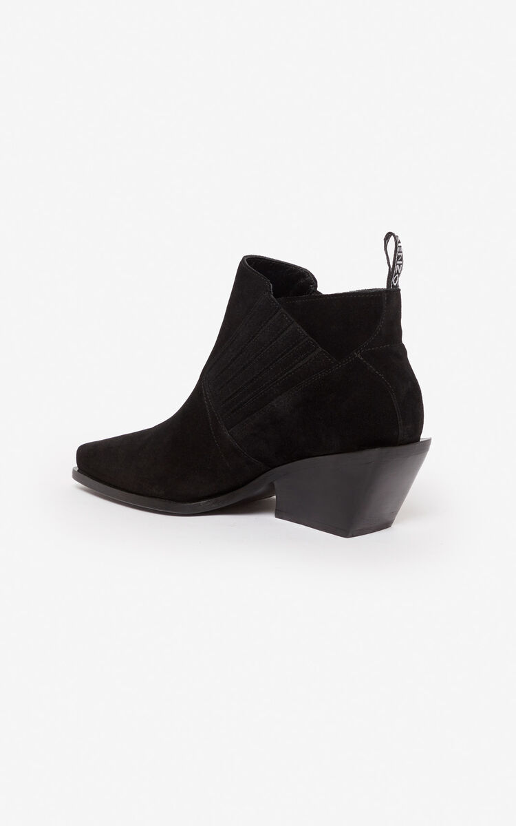 BLACK Rider ankle boots for unisex KENZO