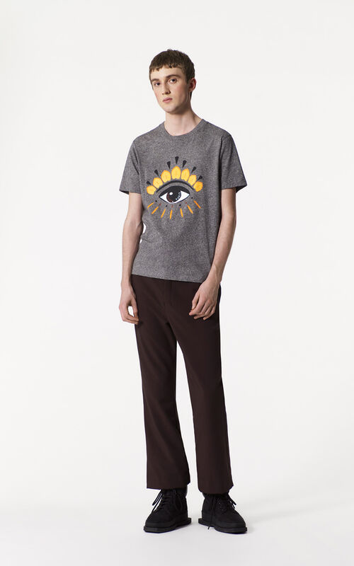ANTHRACITE Eye t-shirt for men KENZO