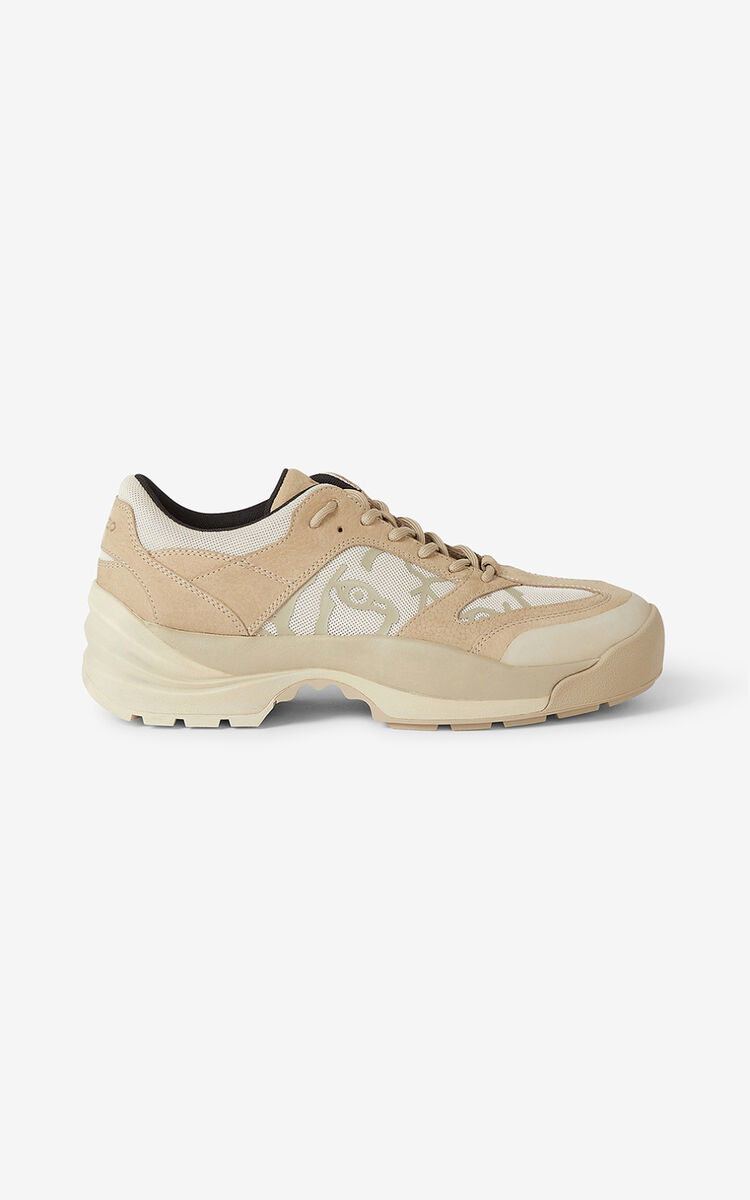 TAUPE KENZO Work sneakers for women