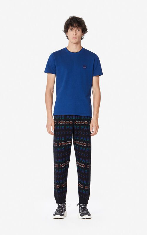 MULTICOLOR KENZO Paris knit trousers for men