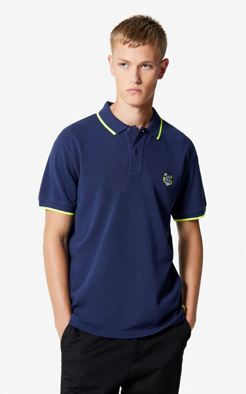 INK Regular fit Tiger Polo shirt for women KENZO