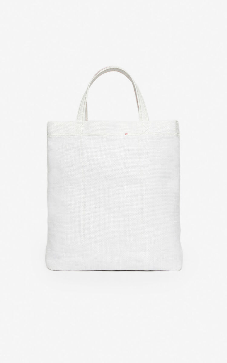 WHITE 'Rice Bags' tote bag for men KENZO
