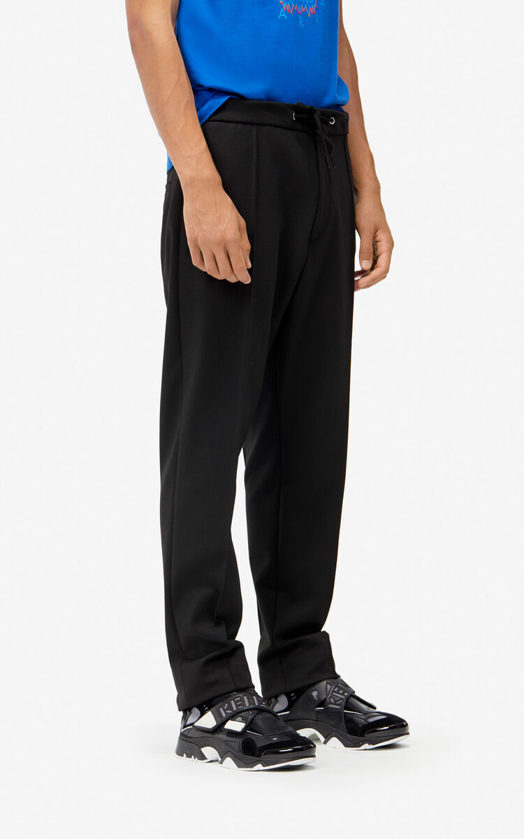 BLACK Pleated slim-fitting trousers for women KENZO