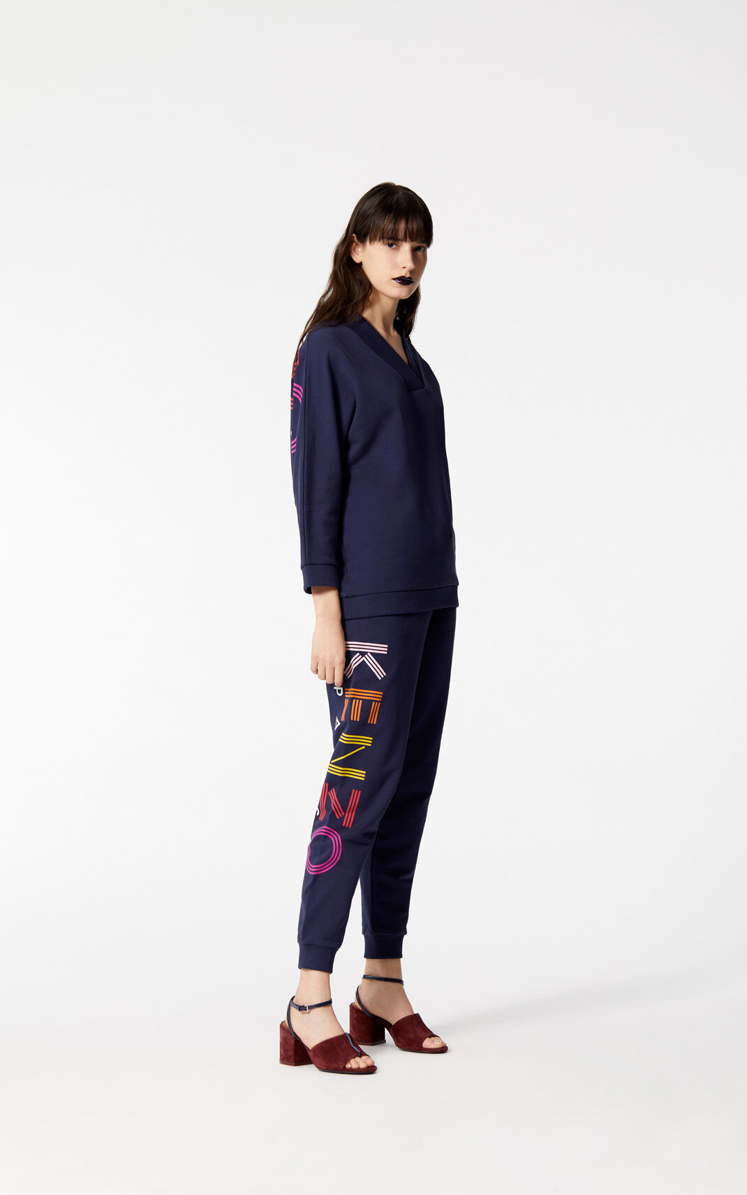 Multicolor KENZO Logo sweatshirt for women