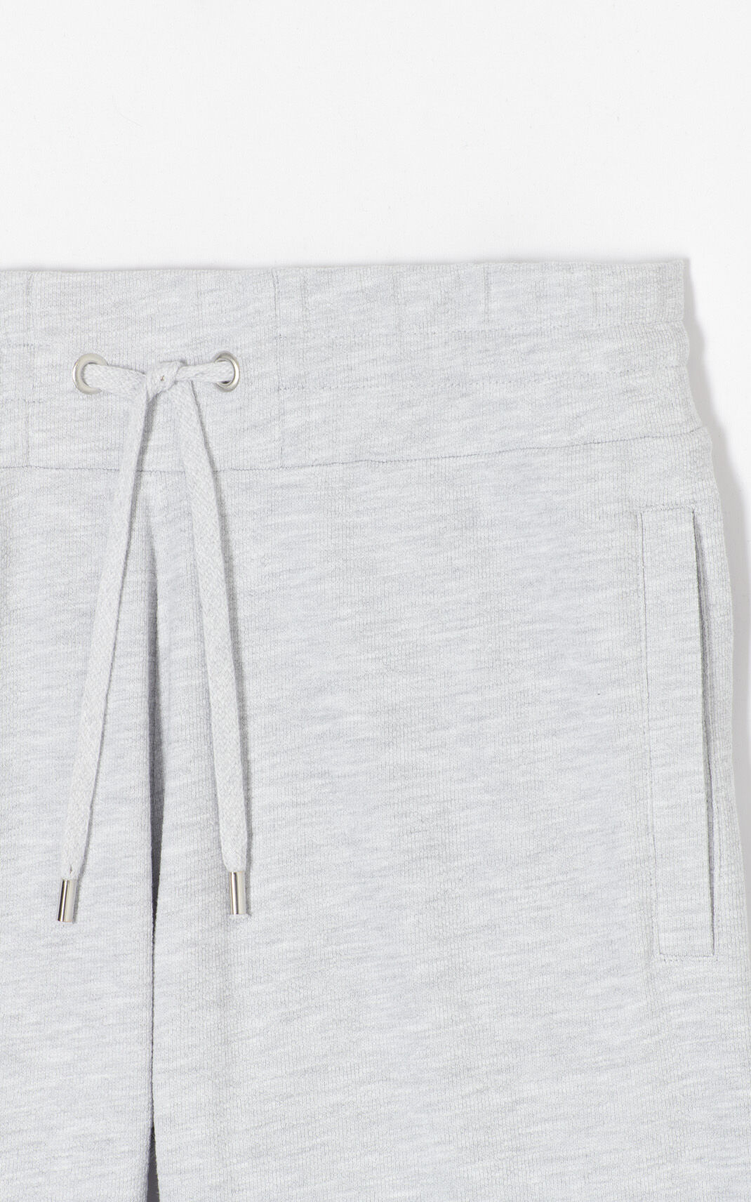 PALE GREY 'High Summer Capsule Collection' KENZO Logo shorts for women