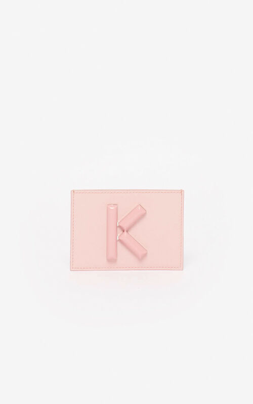 FADED PINK Kandy card holder  for women KENZO