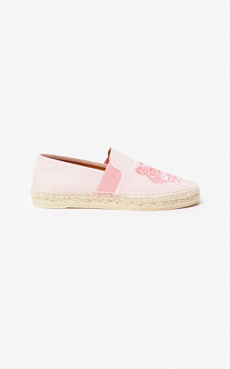 PASTEL PINK Tiger espadrilles for women KENZO