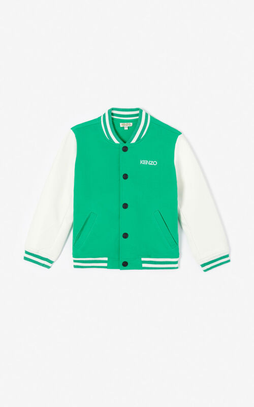 GREEN Teddy 'Disco Jungle' jacket for women KENZO