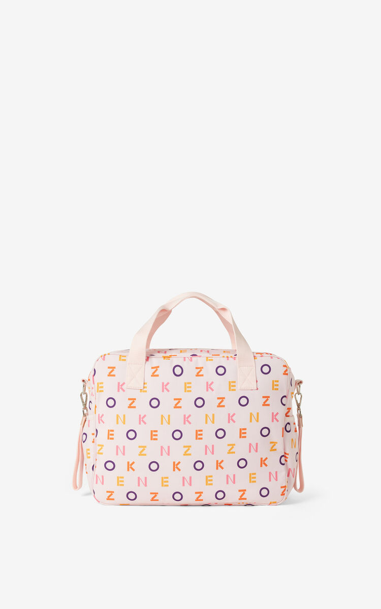 FADED PINK KENZO changing bag for unisex