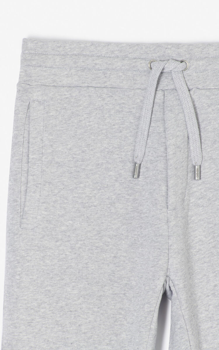 PALE GREY Joggers for men KENZO