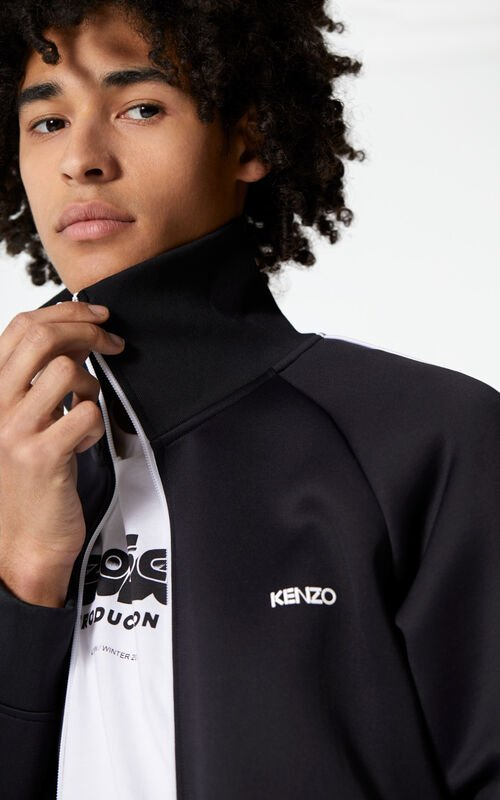 BLACK KENZO zipped jacket  for men