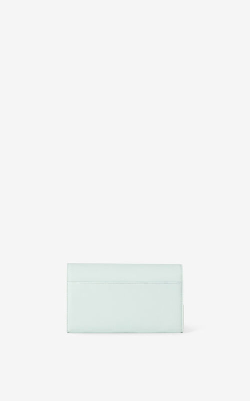 MINT KENZO K leather chain wallet for unisex