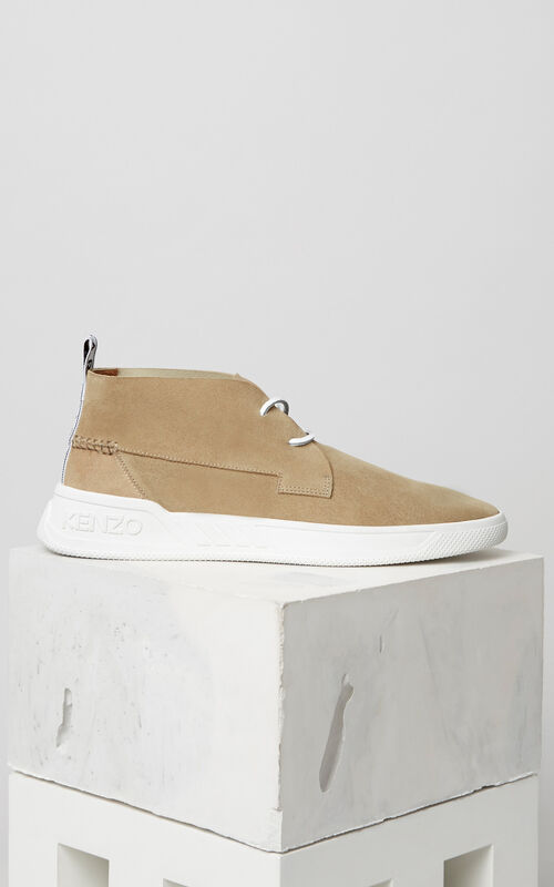 BEIGE Carter Hightop sneaker for men KENZO