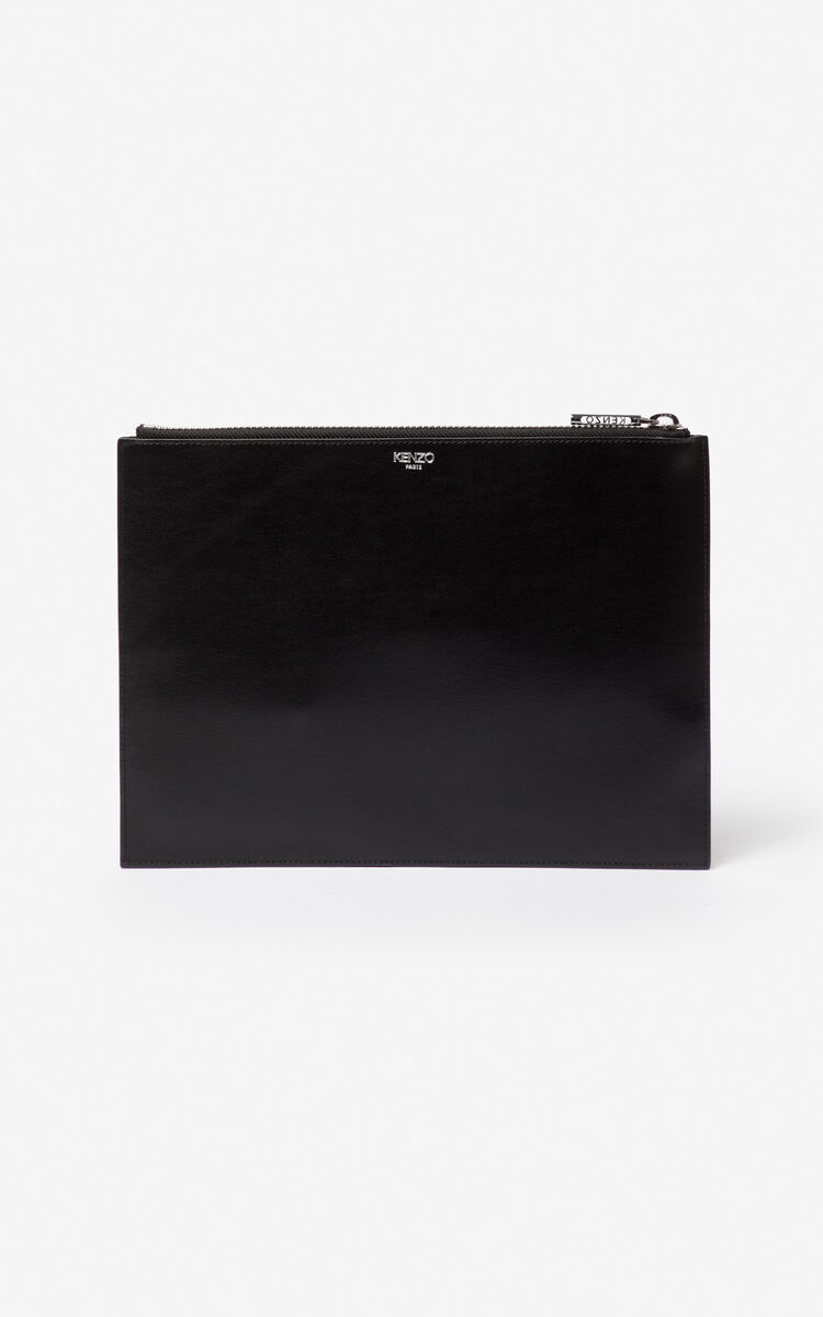 d00cb5af A4 Eye leather clutch for ACCESSORIES Kenzo | Kenzo.com