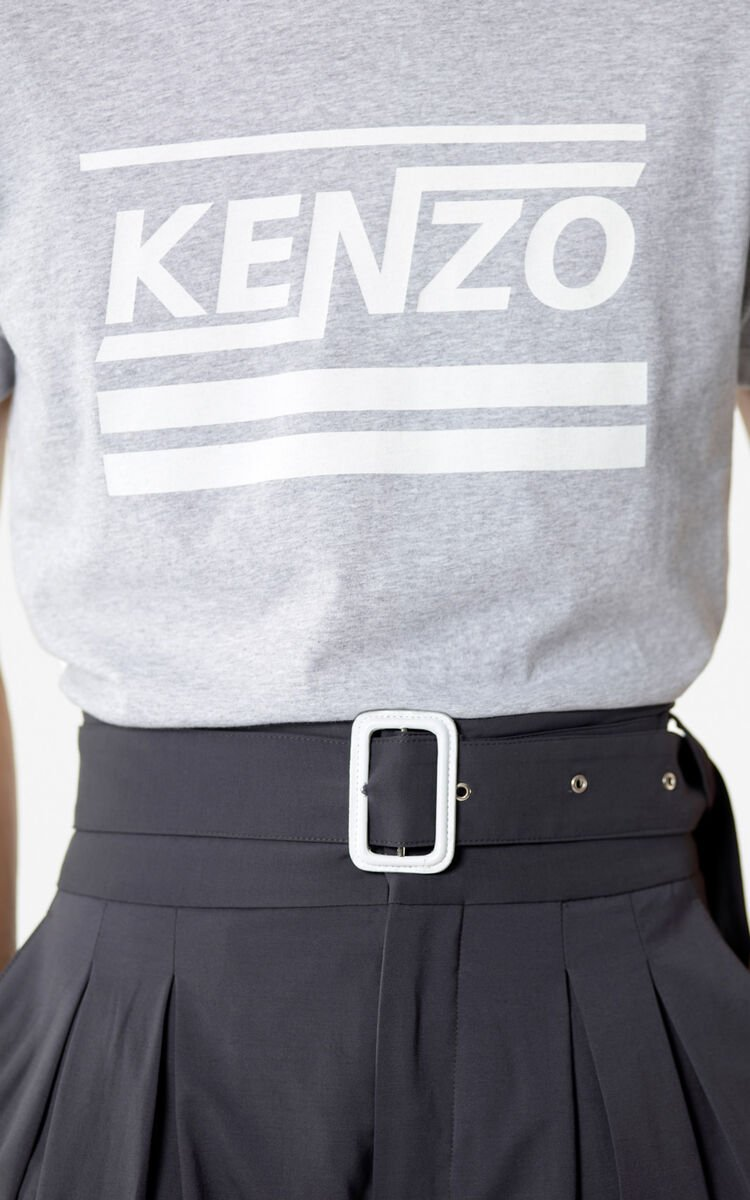 ANTHRACITE High-waisted shorts for men KENZO