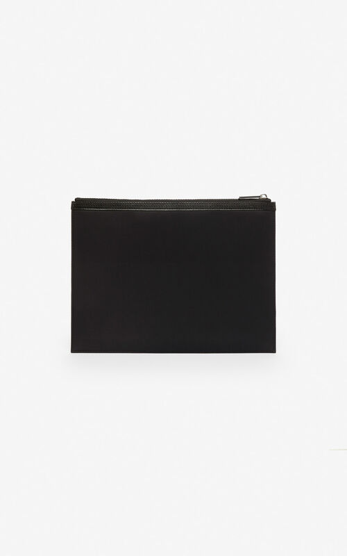 e4ebc5704d7 ... BLACK 'Dragon' A4 clutch for unisex KENZO. '