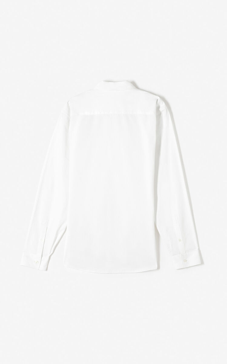 WHITE KENZO Signature shirt for men