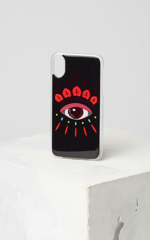 CORAL iPhone X Eye Case for unisex KENZO