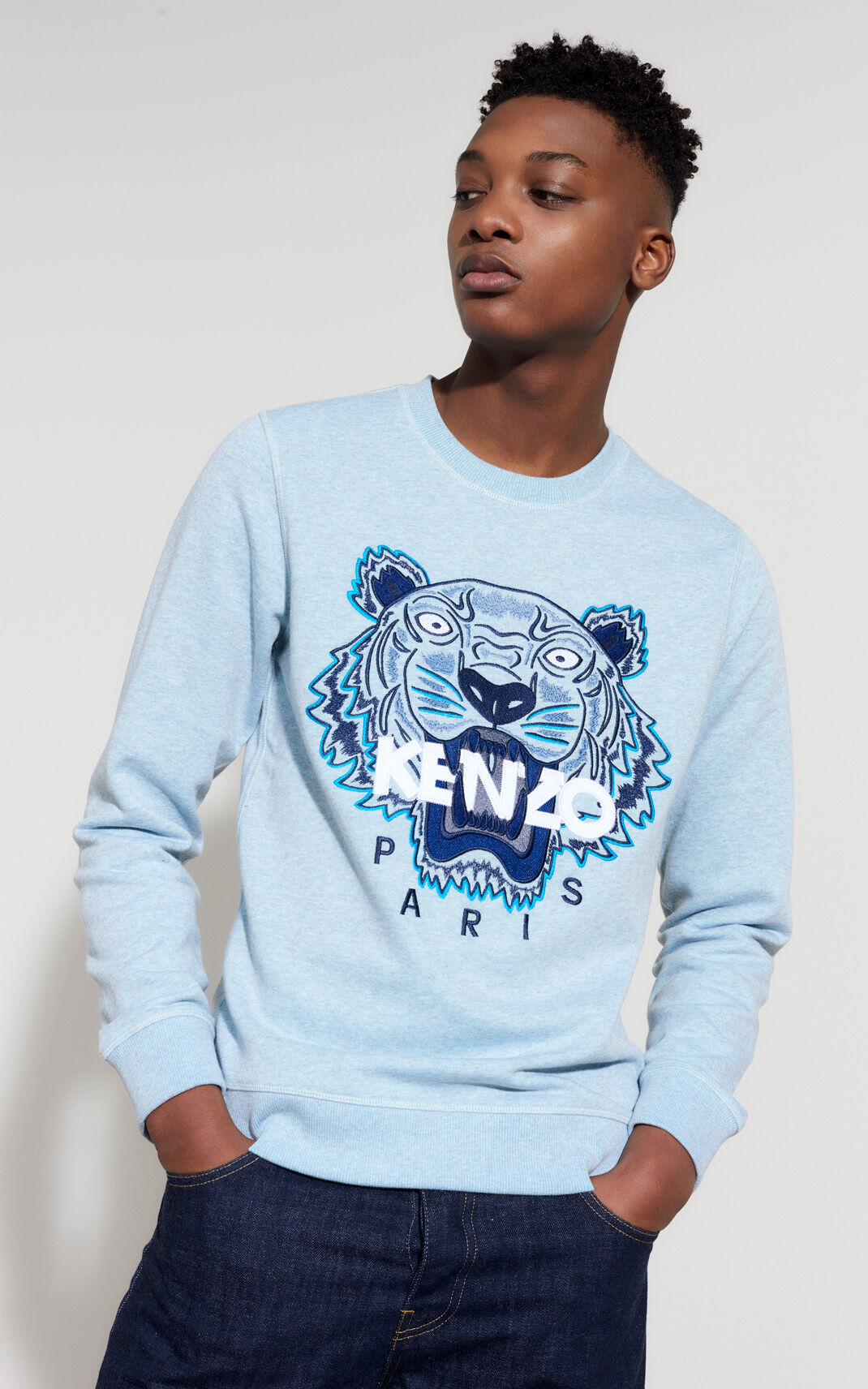 AQUA Sweatshirt Tigre for men KENZO