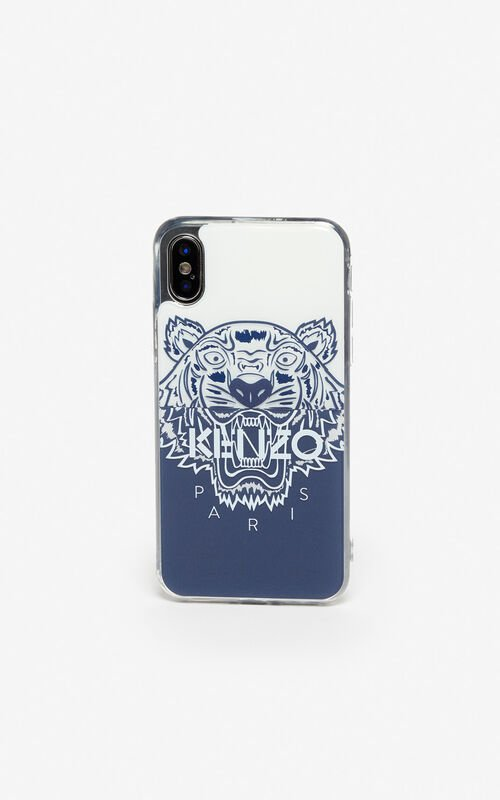 5c10edb43 NAVY BLUE iPhone X/XS Tiger case for unisex KENZO ...