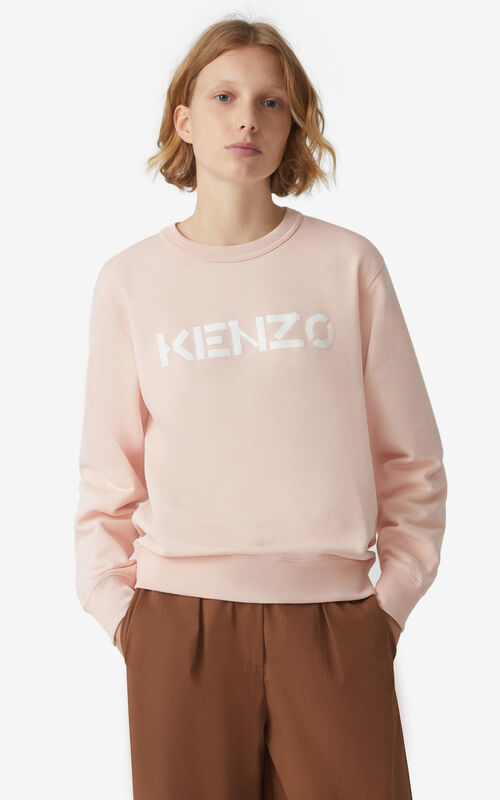 FADED PINK KENZO Logo sweatshirt for men