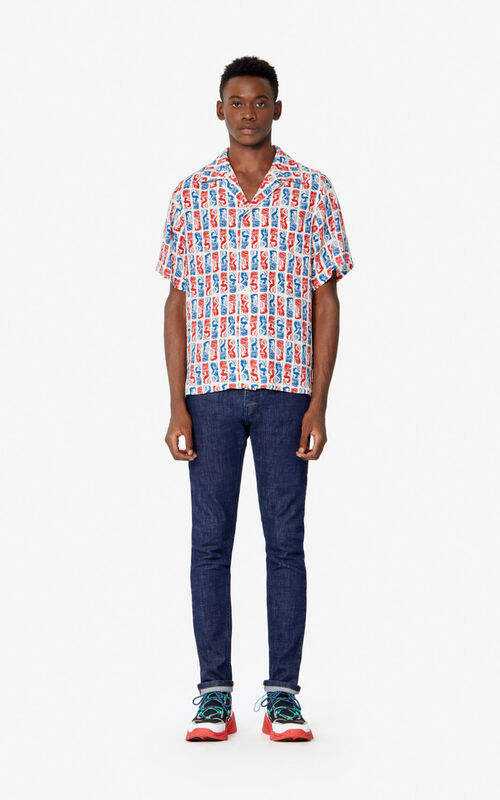 OFF WHITE 'Mermaids' shirt  for men KENZO