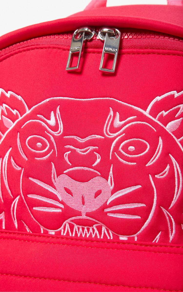 DEEP FUSCHIA Large Tiger backpack for women KENZO