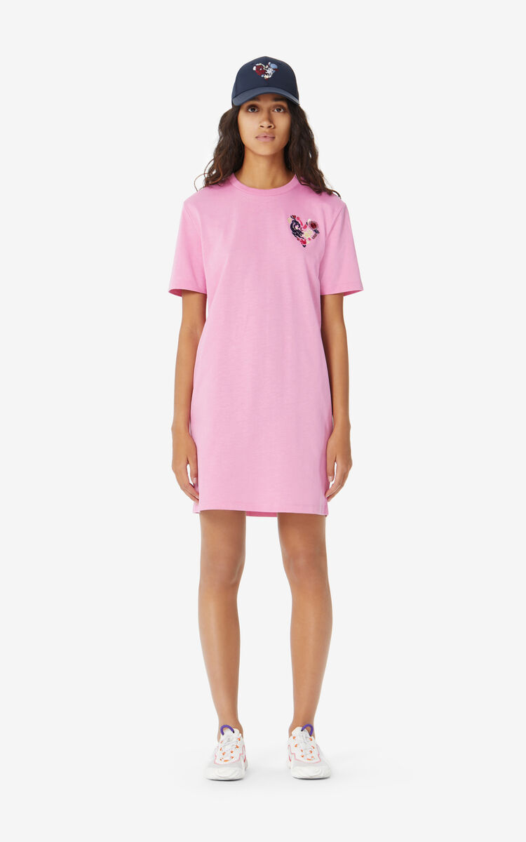 BEGONIA 'Lucky Star' T-shirt dress for women KENZO