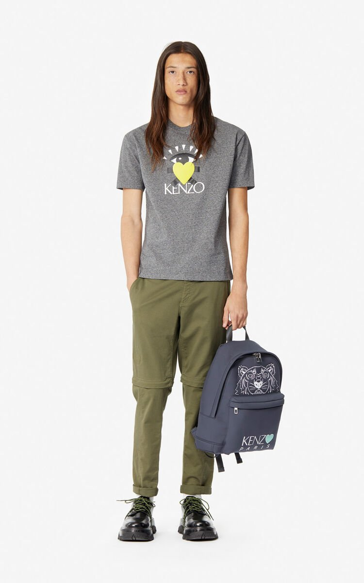 ANTHRACITE 'Cupid' T-shirt for women KENZO