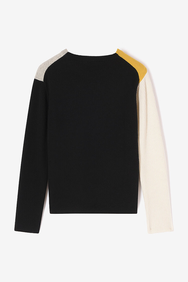 OFF WHITE Colorblock jumper for men KENZO