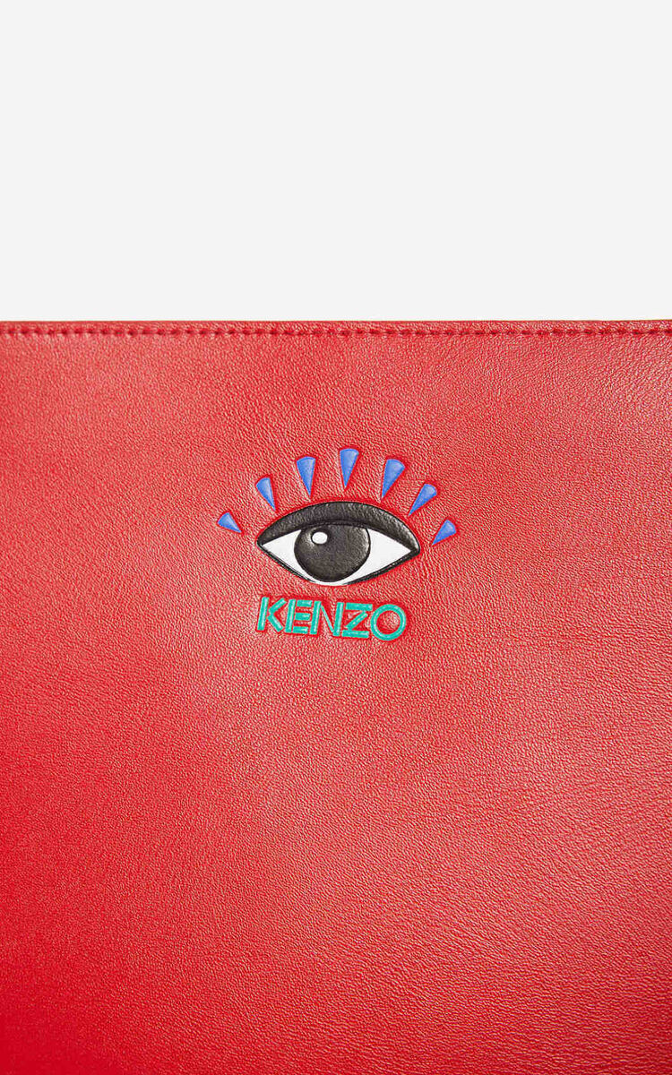 CHERRY Eye A4 clutch for unisex KENZO
