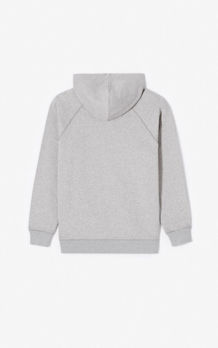 PEARL GREY 'Capsule Expedition' hoodie sweatshirt for women KENZO