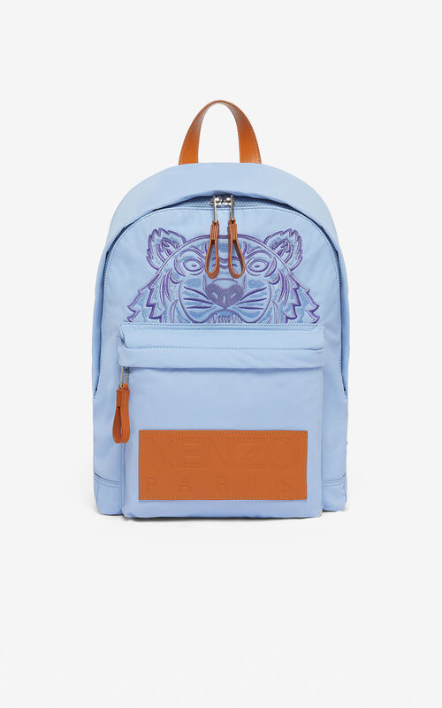 LAVENDER 'High Summer Capsule Collection' large Tiger backpack for unisex KENZO