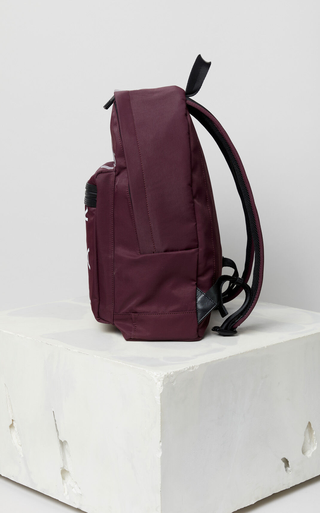 BORDEAUX Large KENZO Logo backpack for women