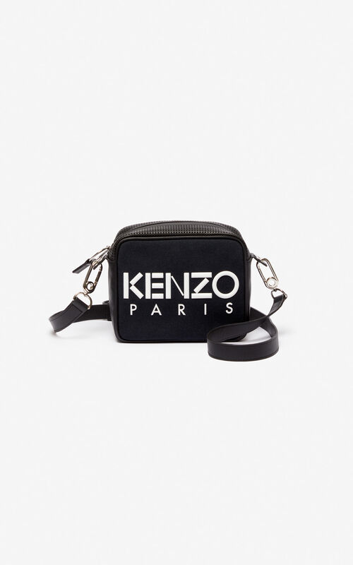 BLACK KENZO Kombo camera bag for unisex
