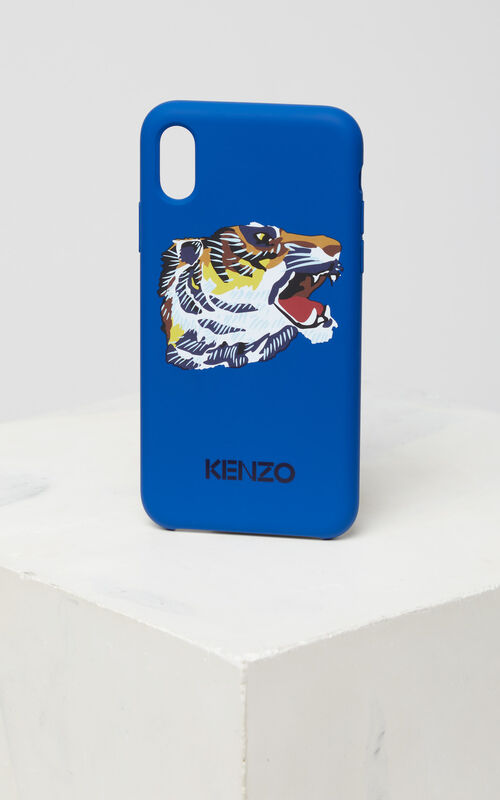 FRENCH BLUE iPhone X 'Tiger Head' Case for unisex KENZO