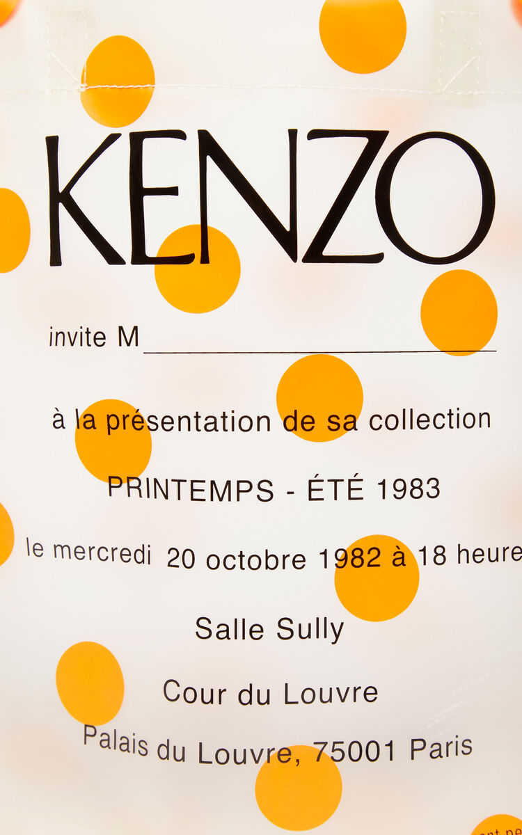 MEDIUM ORANGE Invitation tote bag for unisex KENZO