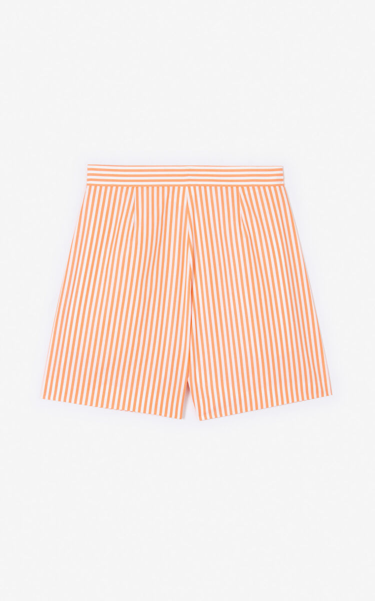 APRICOT Striped shorts for women KENZO
