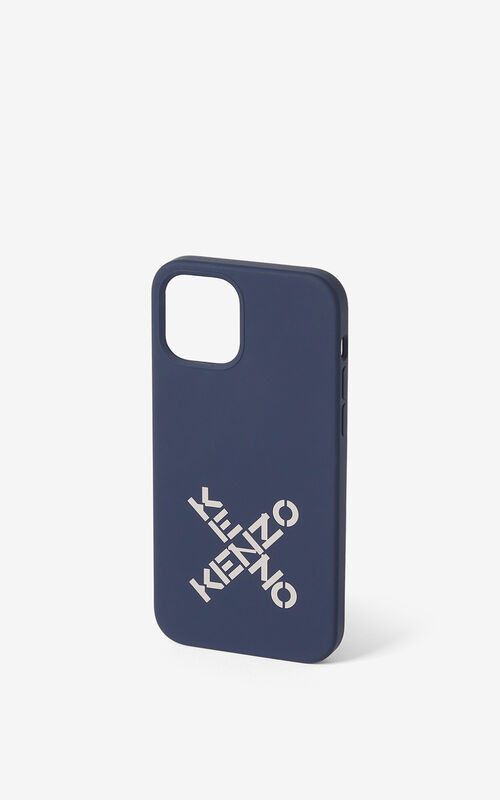 NAVY BLUE iPhone 12 Pro case for unisex KENZO