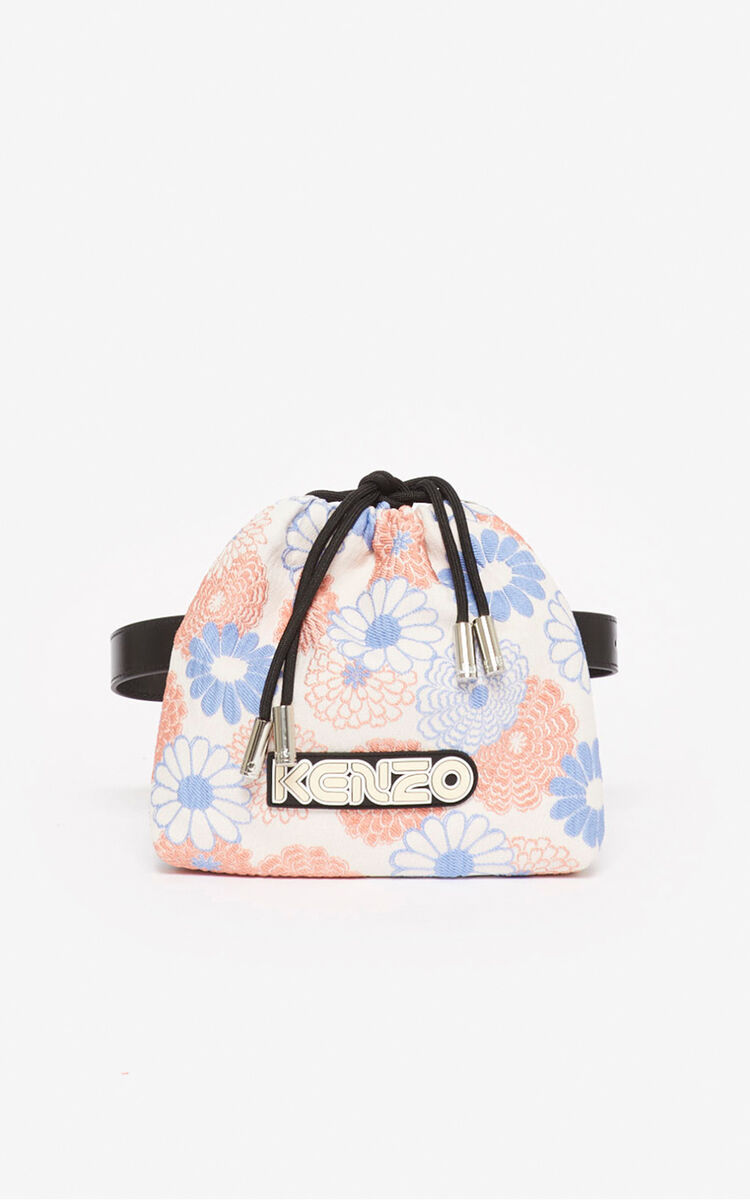 FADED PINK 'Ume Flower' bumbag for unisex KENZO